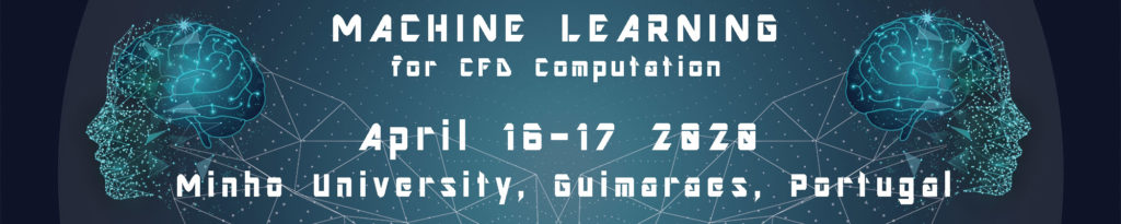 Machine Learning 2020 Header for conference, in april 16-17, in Minho, Portugal